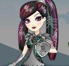 Roupas da guerreira Raven Queen