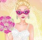 Super Barbie vestido de noiva