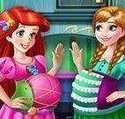 Vestir Ariel e Anna grávidas