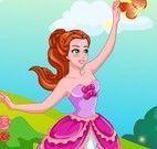 Vestir príncipe e princesa