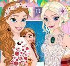Anna e Elsa aniversário