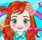Bebê Anna cabeleireiro