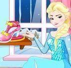 Elsa decorar sapatos