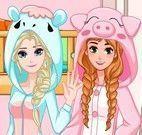 Elsa e Anna quarto novo
