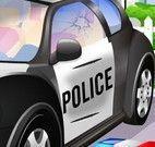 Lavar carro da polícia