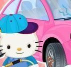 Limpar carro da Hello Kitty
