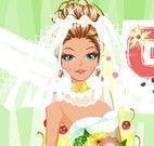 Noiva fashion maquiar e vestido