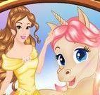 Princesa e unicórnio roupas