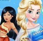 Princesas líder de torcida