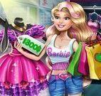 Barbie fazer compras de roupas