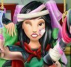 Cuidar da Mulan no hospital