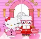 Decorar castelo da Hello Kitty