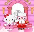 Decorar castelo da Hello Kitty
