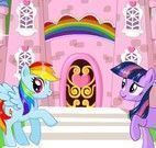Decorar castelo My Little Pony