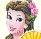Jogo da memória da princesa Bela
