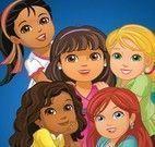 Jogo dos erros Dora e amigas