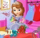 Limpeza do quarto da Sofia