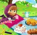Masha e  Bear piquenique