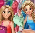 Roupas da Rapunzel e Elsa