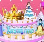 Bolo das princesas decorar
