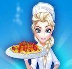 Elsa receita penne ao sugo