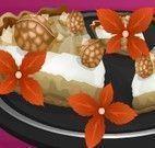 Receita de torta cocô com nozes