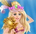 Sereia roupas de carnaval