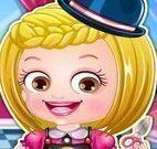 Bebê Hazel roupas de cabeleireira