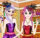Elsa e Anna roupas de bruxas
