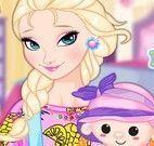 Elsa menina e boneca
