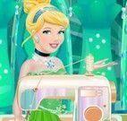 Fazer vestido da Cinderela
