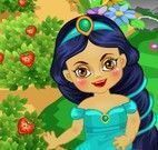 Jasmine bebê jardim