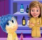 Riley preparar bebidas