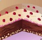 Torta gelada decoração