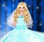 Vestido da noiva divã