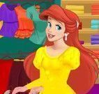 Ariel compras no shopping