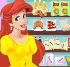 Ariel fazer bolo de casamento