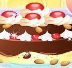 Fazer torta de chocolate com amendoas