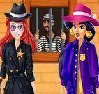 Jasmine e Ariel detetives moda