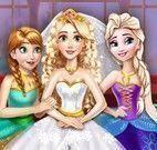 Princesa Rapunzel noivinha