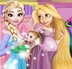Princesas decoração quarto dos bebês