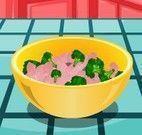 Receita de frango com brócolis