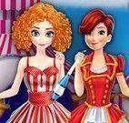Roupas do circo Anna e Elsa