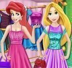 Ariel e Rapunzel no shopping