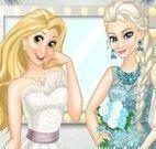 Elsa e Rapunzel modelos noivas