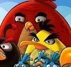 Jogo dos erros Angry Birds