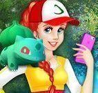 Princesas caçar Pokemon