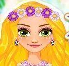 Rapunzel casamento na praia