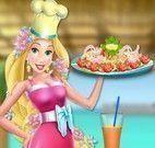 Rapunzel frango com brócolis
