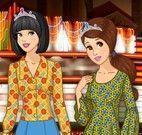 Roupas das princesas adolescentes